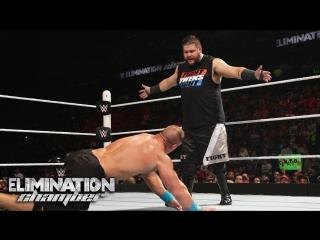 #WH_Present WWE Kevin Owens vs John Cena Elimination Chamber 2015 Highlight
