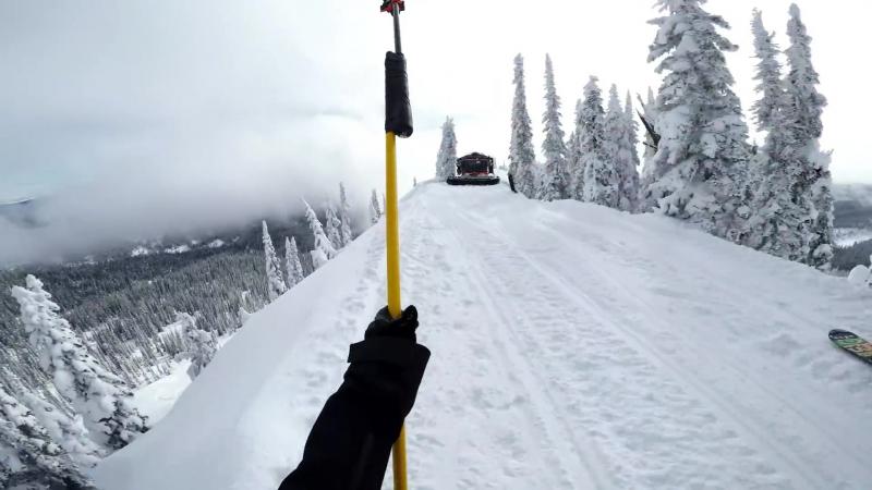 Экстремальное катание с Торстен Хоргмо на сноуборде!