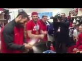 Что творилось в раздевалке сборной России по хоккею после золотой победы!