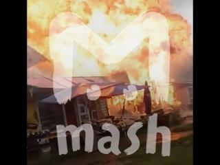 Пожарный в Хабаровске чудом выжил после взрыва