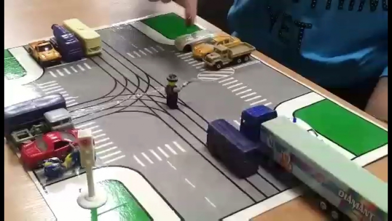 Регулирование дорожного движения . Проезд перекрёстков .