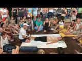 Тайский-йога массаж. Роберт Илинскас. Работа со стопами