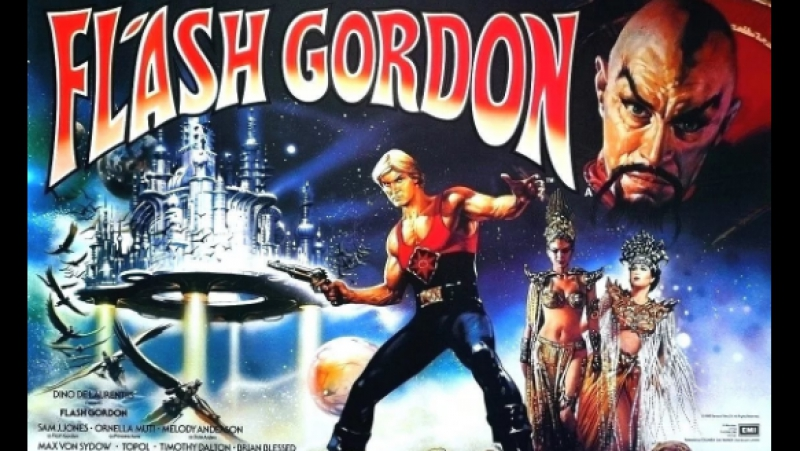 Флэш Гордон / Flash Gordon (1980) CLASSIC