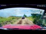 18  Эротика в ралли-рейдах или если твой штурман девушка. Онборд (видео из кабины) из машины. Гонка.