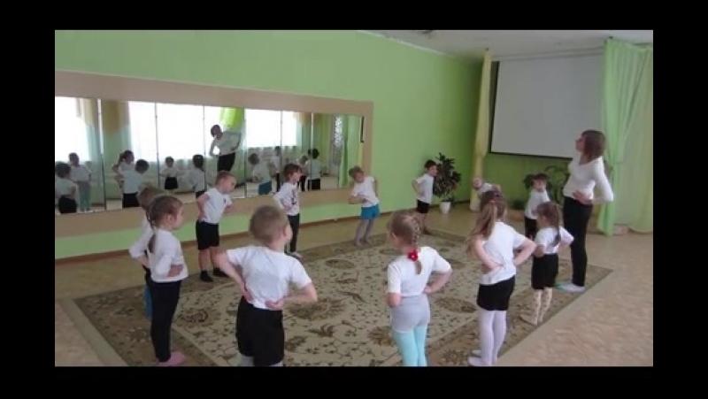 Утренняя йога - разминка в детском саду