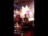 Demi on Jennifer Lopezs Instagram live (jlo)