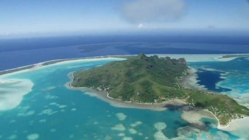 Южное побережье Тихого океана. Острова на юге Тихого океана