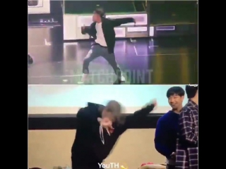 got7 | Yugyeom perfectly imitates JB's crazy My Swagger dance