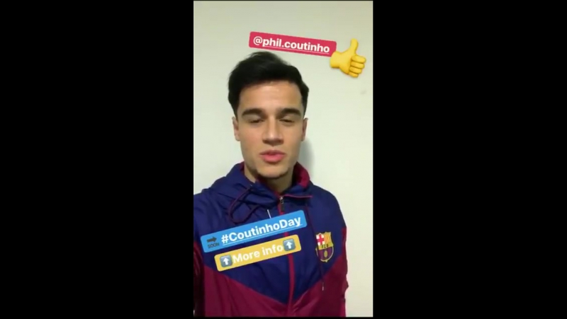 Coutinho's message to FCBarcelona fans