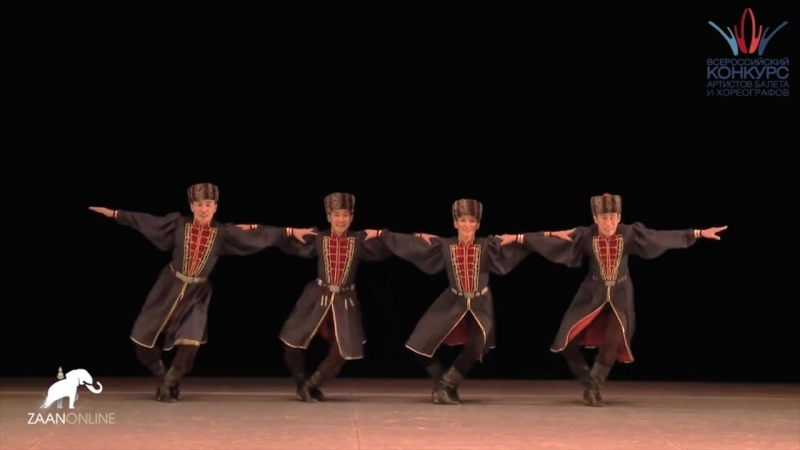 """Калмыцкий танец """"Торhуда би"""""""