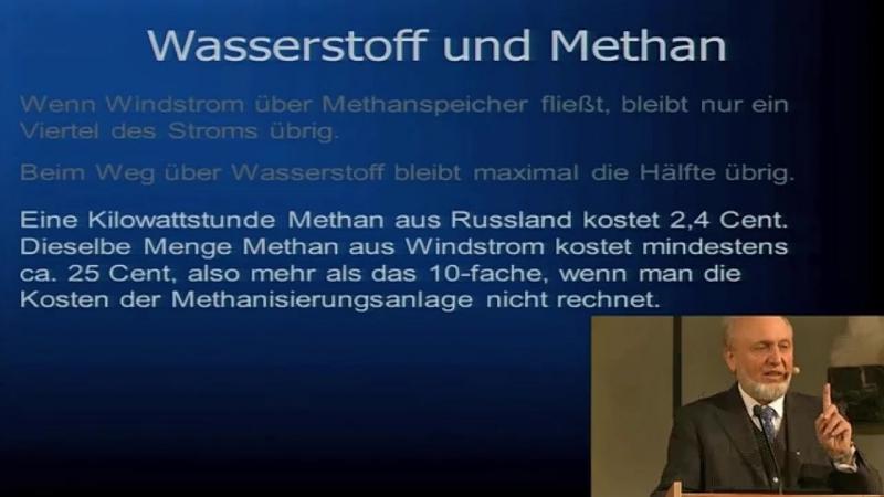Energiewende politisch geistesgestört! Prof. Hans Werner Sinn