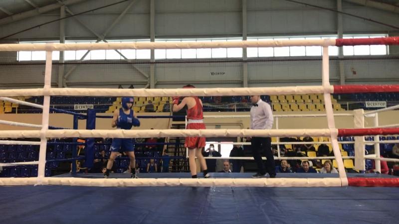 Юрасов Матвей финал синий Второй открытый областной турнир по боксу памяти Л Б Бутовского г Балаково