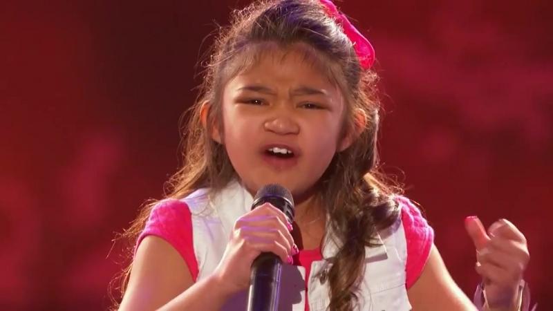 Мурашки по коже от голоса этой девчонки!