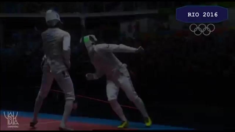 Фехтование в Рио 2016_ Компиляция финальной борьбы Российских рапиристов с США и.mp4