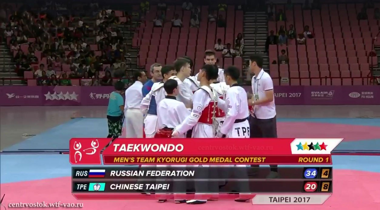 TKD_Rus_team_Gold_medal