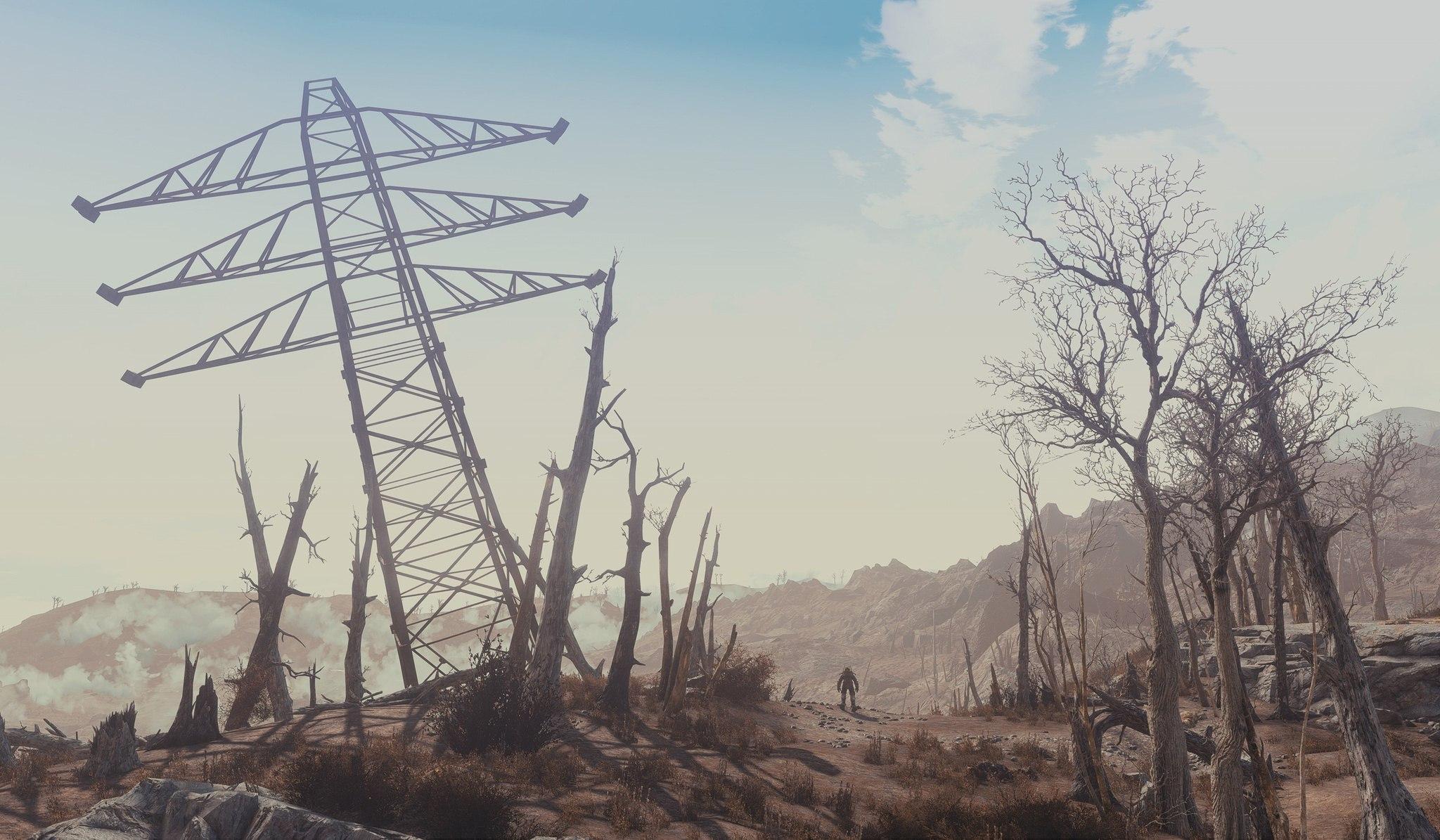 Очень эффектные скриншоты из Fallout4