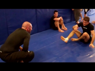 Rolling with Rafa Mendes after no gi seminar