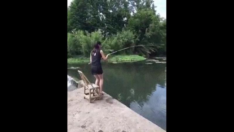 Рыбалка всегда непредсказуема...