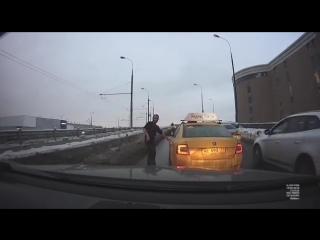Таксист неадекват