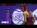 WTA St Petersburg R1 2018 Cirstea vs Cibulkova