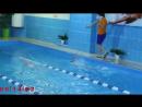 Первые соревнования по плаванию у Саши