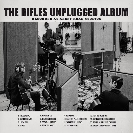 The Rifles альбом The Rifles Unplugged Album: Recorded at Abbey Road Studios