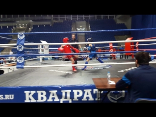 Белобородов Даниил (АМТ) vs Коваль Егор (Комбат, Одинцово) 3 раунд