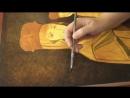 Охрение и роскрыш фона иконы Мастер класс по перекритию прозрачными слоями фона от иконописца Любови Могулкиной