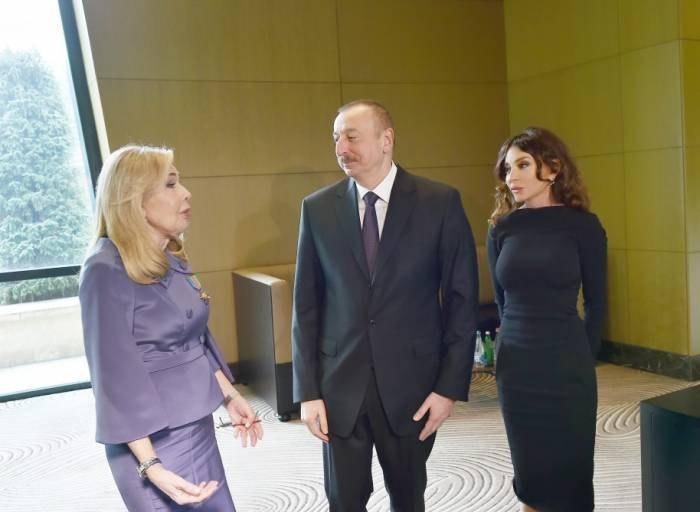 Prezident UNESCO-nun səfirinə orden təqdim etdi