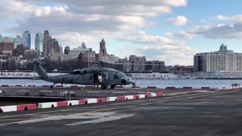 Пилоты ВМФСШАсломали вертолет стоимостью 21млндолларов
