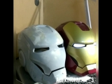 Iron man motorized faceplate