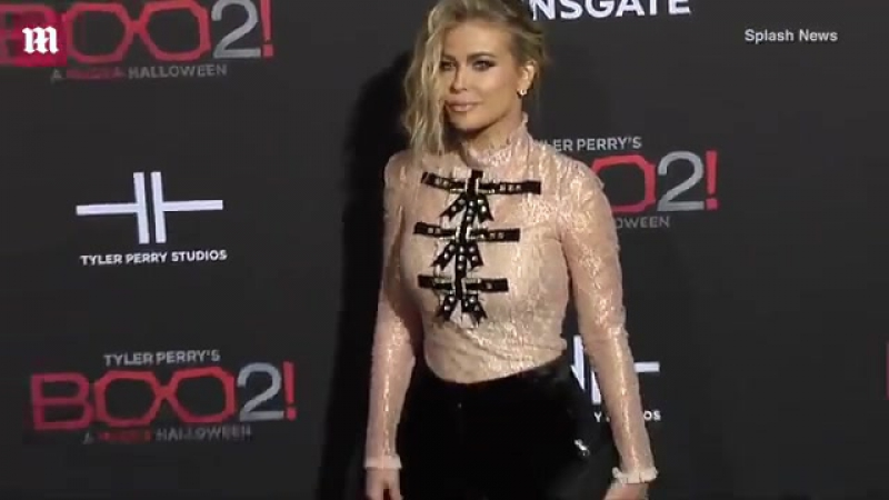 All tied up! Carmen Electra arrives at Boo 2! A Madea Halloween