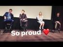 'Wind River' Q A with Taylor Sheridan, Elizabeth Olsen and Jeremy Renner, 02.12.2017