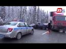 В лобовой аварии с фурой погиб водитель на вологодской трассе