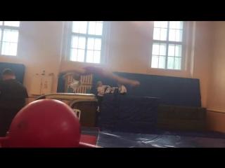 Вероника Дмитриченко. Опорный прыжок. Первенство СЗФО, Великий Новгород, октябрь 2017