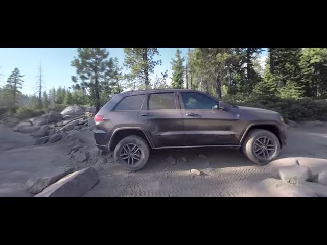 Jeep Grand Cherokee Trailhawk | 360-Degree Rubicon Trail