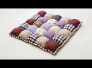 How to make a Bubble Puff Quilt 泡芙拼布垫 Mother's Day Gift Ideas ❤ 母亲节礼物 HandyMum