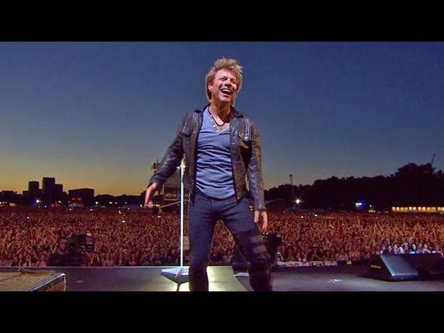 Bon Jovi - Livin on a Prayer (Hyde Park 2011)