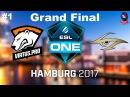 VP vs Secret RU Grand Final #1 (bo3) ESL One Hamburg 2017 Major 29.10.2017