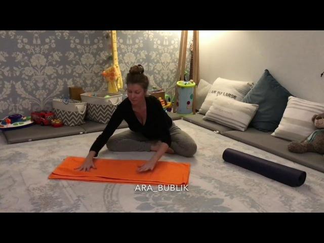 Как разгладить шею и убрать холку (комплекс упражнений Зоопарк)