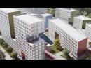Концепция реновации на Проспекте Вернадского от Steven Holl Archtects и арт группы Камень