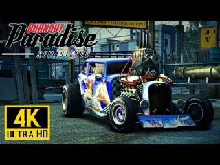 [4K] BURNOUT Paradise Remastered - Xbox One X Gameplay 60fps @ 2160p ✔