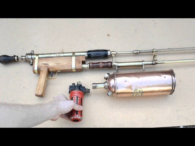Build your own Prop Steampunk Flamethrower