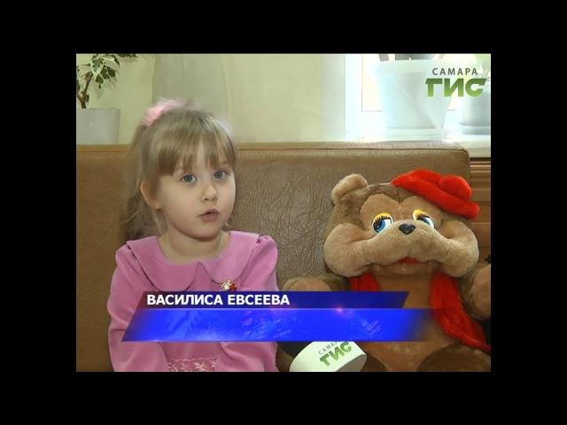 Четырехлетняя Василиса Евсеева покорила жюри конкурса на одном из федеральных ...