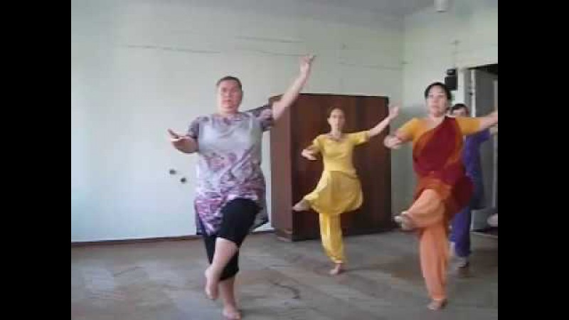 Индийский танец. Бхаратанатьям, шлока Шиве.