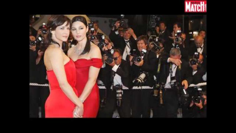Monica Bellucci et Sophie Marceau à Cannes
