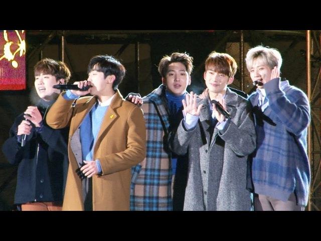 B1A4, 12월의 노란 크리스마스 '선물' 무대 (이게 무슨 일이야 잘자요 굿나잇)