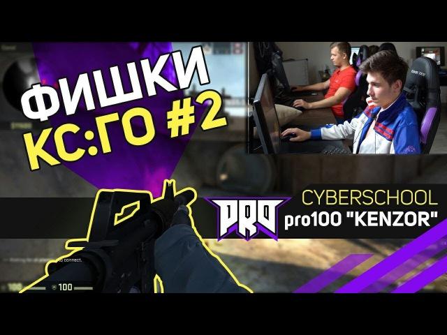 CYBERSCHOOL ФИШКИ КСГО 2 - pro100 KENZOR