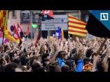 Каталонские студенты вышли на масштабный протест