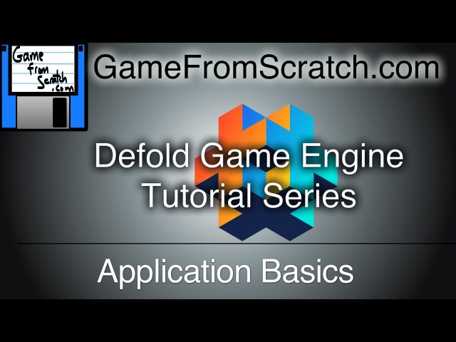 Defold Tutorial Series -- Application Basics
